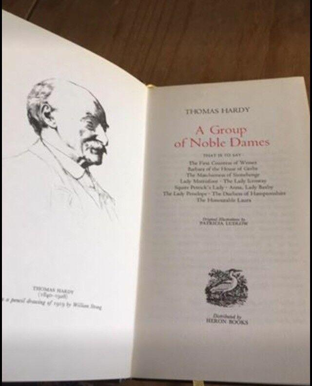 Thomas Hardy 12 volumes