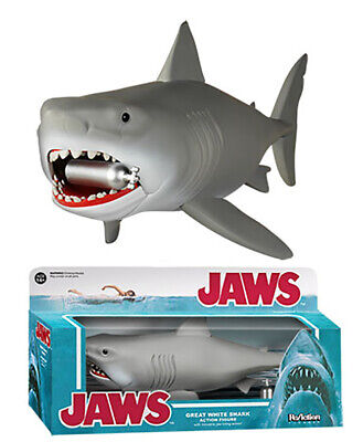 """Funko Jaws Great White Shark ReAction Super7 10"""" Action Figure"""