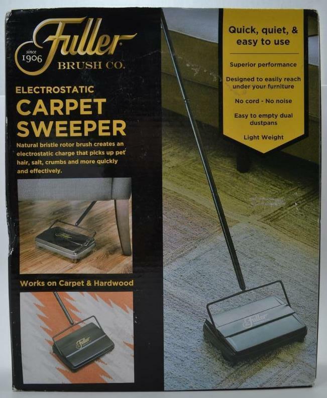 Fuller Brush Co Electrostatic Carpet Sweeper 17027 NEW #OF-1-4