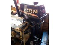 Selva 6hp outboard engine 2004