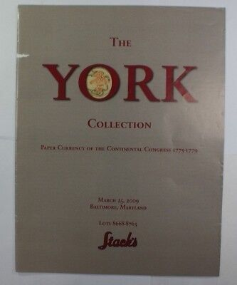 March 25 2009 Stacks York Collection Paper Currency Continental Congress Rse A38