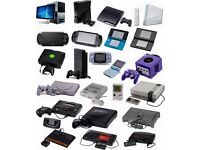 Buying games & consoles all day