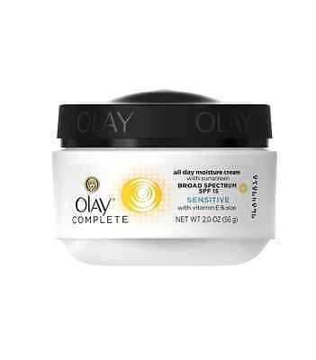Olay Complete UV Protective Moisture Cream, Sensitive Skin,