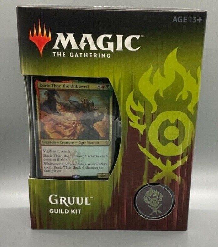 Magic The Gathering GRUUL Guild Kit Ravnica Allegiance New Sealed Box MTG 2019 - $21.99