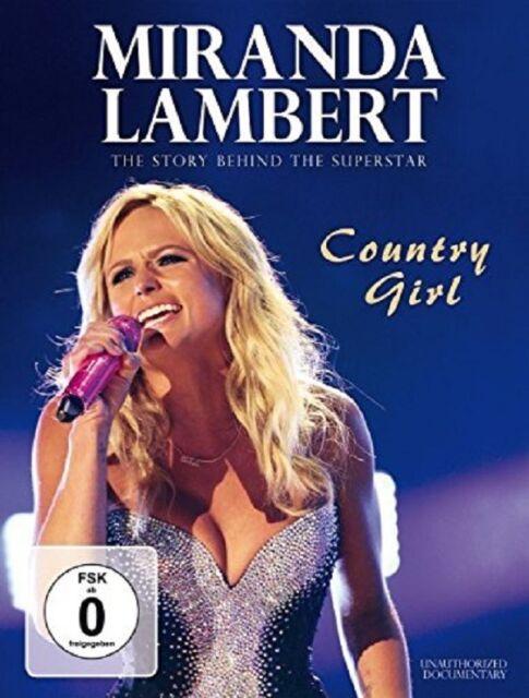 MIRANDA LAMBERT - COUNTRY GIRL/DUOCU.  DVD NEU