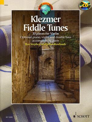 Klezmer Fiddle Tunes for Violin Songbook für Violine Geige Noten mit CD