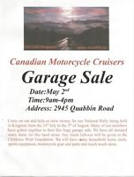 Canadian Motorcycle Cruisers Garage Sale