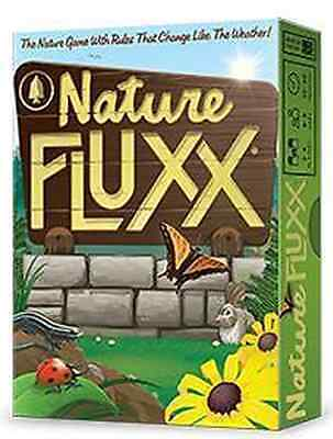 Nature Fluxx Deck (Looney Labs) Card Game  NEW!!   LOO 071 old eco flux
