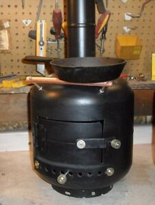 "The ""Hut Heater"" Wood Stove"