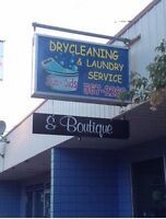 Laundry Service And Boutique For Sale