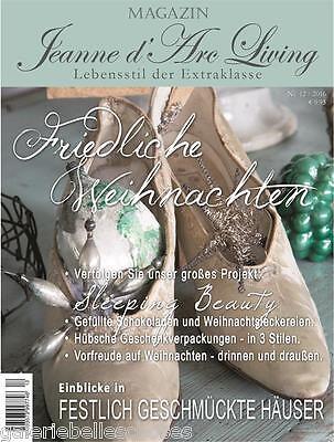 Jeanne d'Arc Living Magazin 12 2016 Shabby Chic Dezember Vintage Brocante