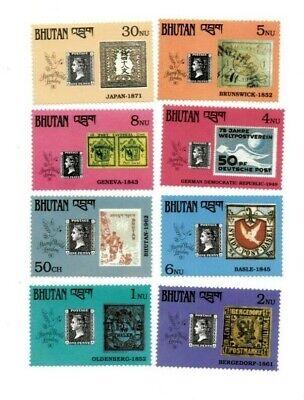 SPECIAL LOT Bhutan 1990 894-900, 5 - Penny Black 150th Ann. - 20 Sets of 8v - MNH