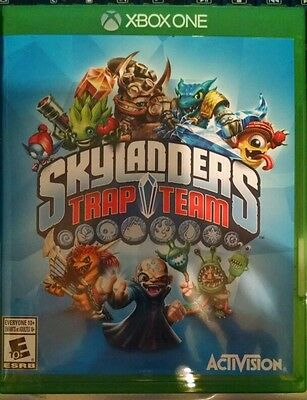 Skylanders Trap Team Video Game Only  For Xbox One   Microsoft Xbox One  2014