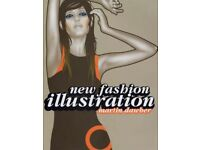 New Fashion Illustration paperback book by Martin Dawber - collect Lancing