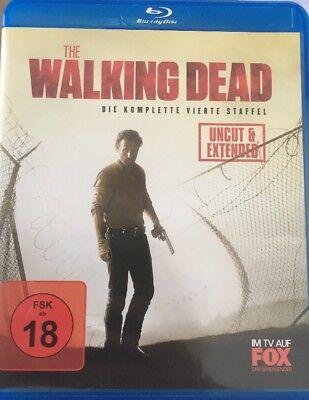 Bluray Kult Horror- The Walking Dead komplette 4. - Staffel Uncut 5 Disc (Komplette Zombie)