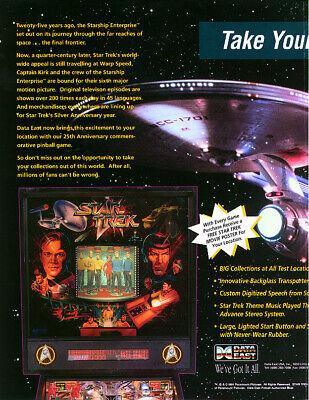 Star Trek 25th Anniversary Pinball (DE) - CPU v2.01/DISP v1.09 ROM Upgrade set
