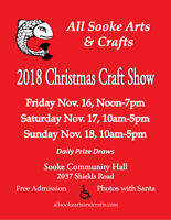 All Sooke Arts and Crafts Association Christmas Craft Show