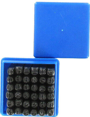 36-tlg Schlagzahlen Set Schlagbuchstaben Satz Schlagziffern 4mm Zahlen 52096