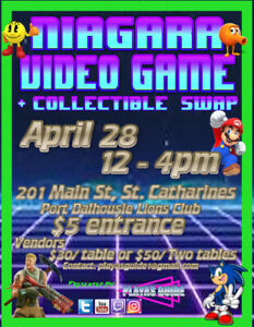 Video Game Swap Niagara April 28