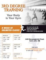 *3rd Degree Training*  8-week Fitness Camp!