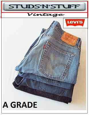 Regular 550 Relaxed Fit Jeans -  VINTAGE LEVIS 505'S REGULAR / STRAIGHT FIT & 550'S RELAXED FIT JEANS