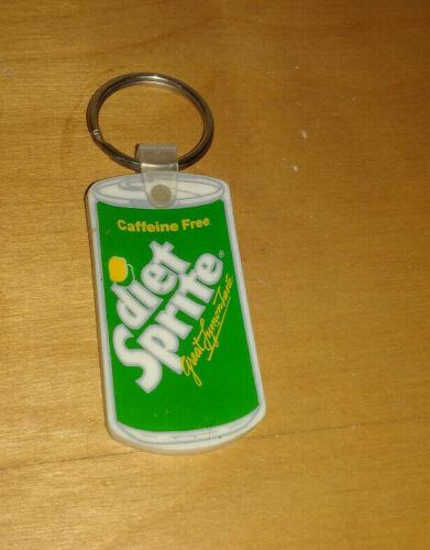 Vintage DIET SPRITE Keychain Key Chain rare htf