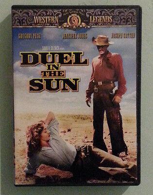gregory peck  DUEL IN THE SUN  jennifer jones DVD