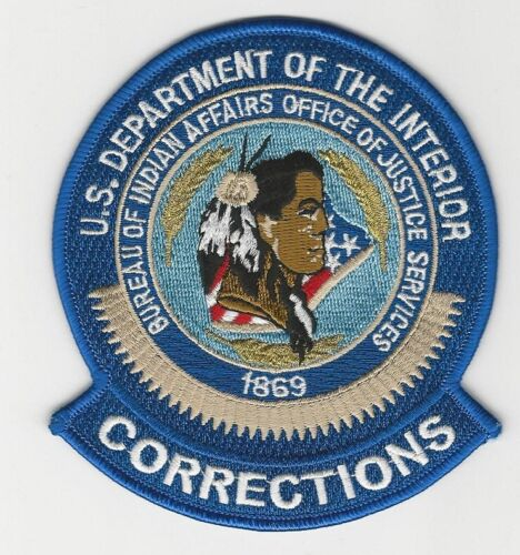Tribal Police Corrections B I A Indian Affrs Justice Services Police State OK AZ
