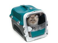 Catit Cabrio Cat Carrier, Turquoise