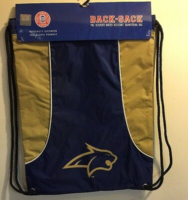 NCAA Montana State Bobcats Axis Back-Sack Backpack String (Montana State Bobcats Backpack)
