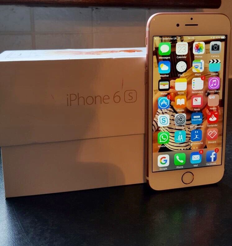 I Phone 6S Rose Gold Unlocked GREAT PRICE