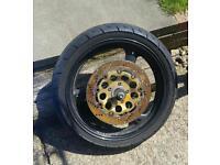 Suzuki bandit front wheel
