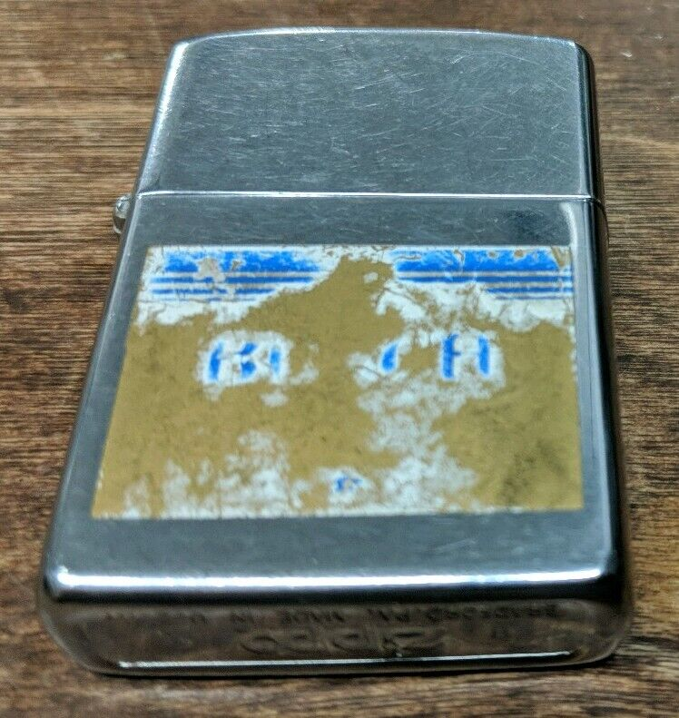 1993 Busch Zippo Lighter HEAVY WEAR PLEASE SEE PICTURES Anheuser