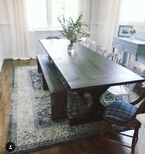Custom one of a kind harvest / farmhouse tables