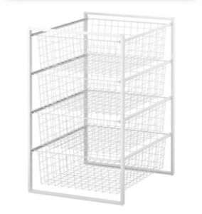 IKEA Antonius Wire Drawers (Silver)