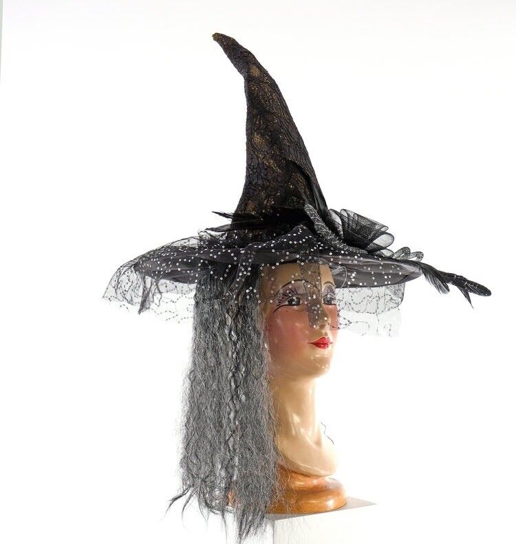 Katherine's Collection - BRUNHILDA's WITCH HAT - Brand New!