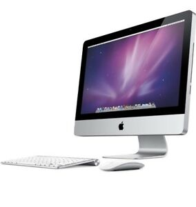 "Apple iMac 21.5""Screen wireless keyboard and mouse"