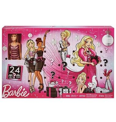 Barbie Advent Calendar Toy Christmas Countdown New Sealed Doll With Accessories