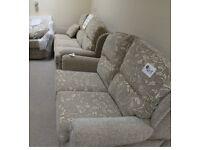 Brand new Grantham Briege Fabric Suite 3.2.1.1