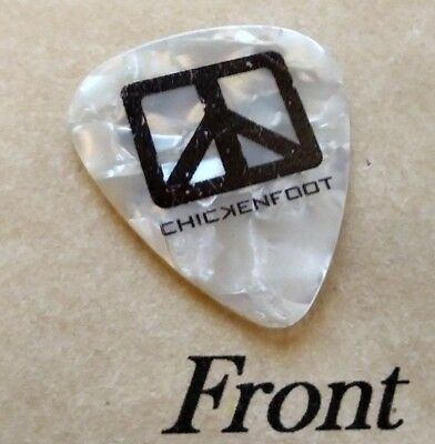 CHICKENFOOT - SAMMY HAGAR band logo signature guitar pick -(S)