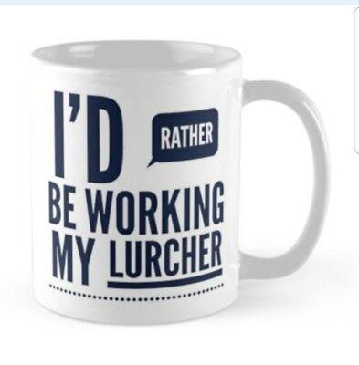 Working Lurcher Mug