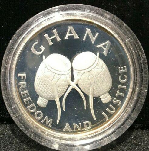 1984 Ghana 50 Cedis, FAO world Fisheries Conference
