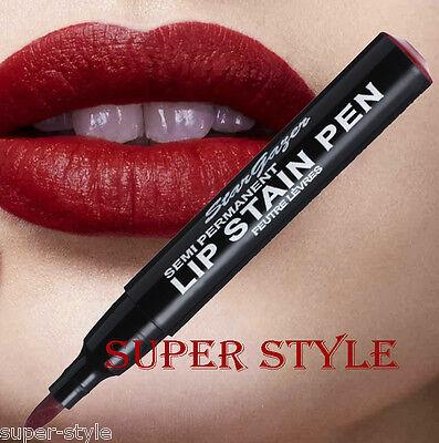 Stargazer MATTE RED SEMI PERMANENT LIP STAIN PEN Long Lasting Lipstick 03