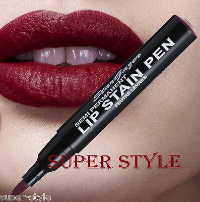 Stargazer MATTE RED WINE SEMI PERMANENT LIP STAIN PEN Lipstick 09