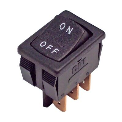 Switch Rocker Spdt 16 Amp 120v On-off Cw Industries Grs-4012-0060 2 Pcs