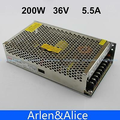 200w 36v 5.5a Single Output Switching Power Supply Ac To Dc Smps