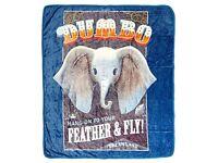 // // 80x60 inch 40X30 inch 60x50 inch Disney Dumbo Mozaic Blanket