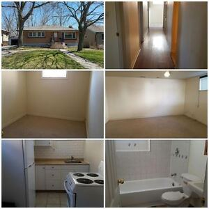 57 Wolfe ST. 2 Bedroom Basement apartment-Available September 1