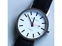 Contemporary designer watch - unisex
