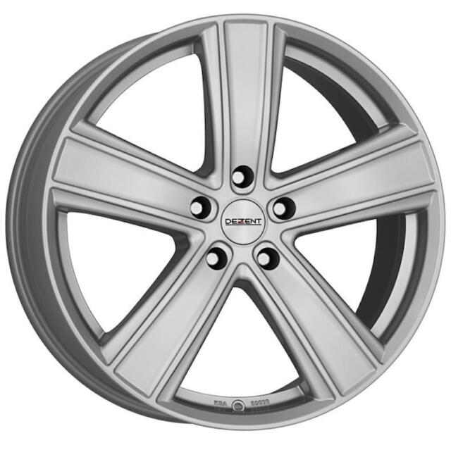 """17"""" DEZENT TH SILVER ALLOY WHEELS ONLY BRAND NEW 5x127 RIMS"""